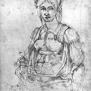 ヴィットリア・コロンナの肖像画からミケランジェロの自画像発見か