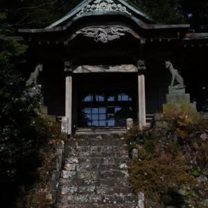 春埜山大光寺の狛犬