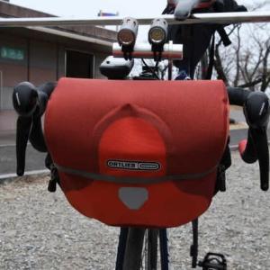 自転車のフロントバックを新調