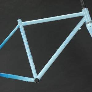 自転車の塗装が完了