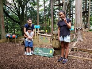 フォレストアドベンチャー箱根で運動、箱根神社で神頼み、はなをりでまったり温泉(^^♪
