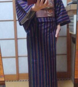 今日の着物