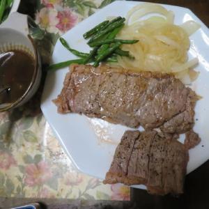 North Eagle 飯チンでステーキを焼いてみた