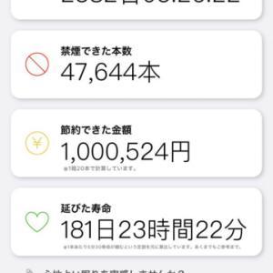 100万円貯まったか?!