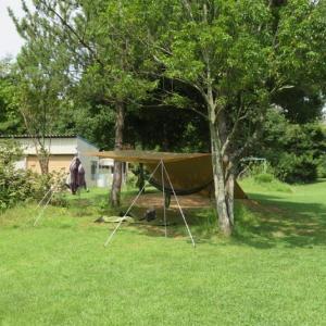 デイキャンプツーリング:2021/8 牛久沼 たくせん園地