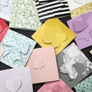 【NEW★三つ折りプチカード】サイズをリニューアルして再登場した可愛いカード♪