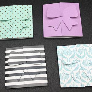 可愛い三つ折りプチカードをYouTubeでご紹介♪