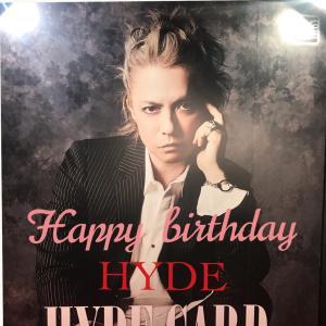Happy Birthday hyde❁⃘❀