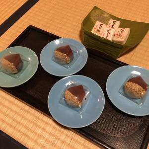 10月のお稽古~秋の可愛いお菓子