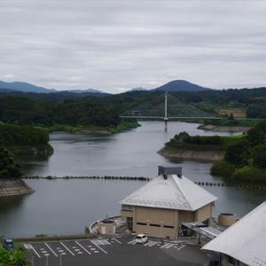 三春ダム周辺 !