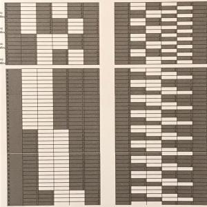 数値音楽(28)テトラコルドパターン