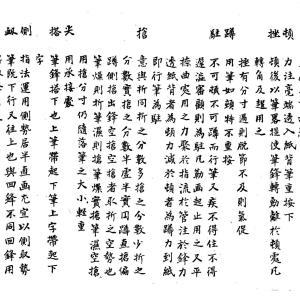 書法纂論6