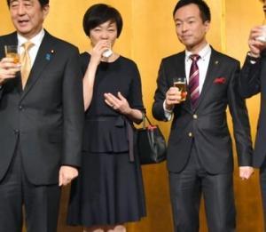 菅「首相も夫人も食事せず」が嘘だとバレたら今度は「ゲストのような物」だと