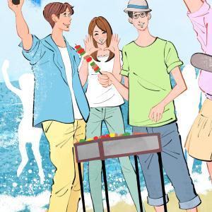 バーベキュー/恋するイラストレーションNo.566 #2369