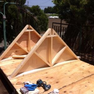 小屋作り 3