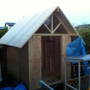 小屋作り 5