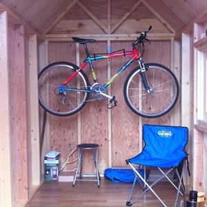 小屋作り 8
