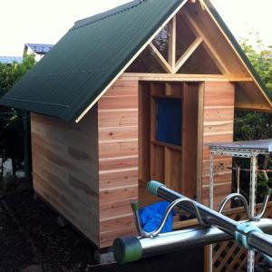 小屋作り 6