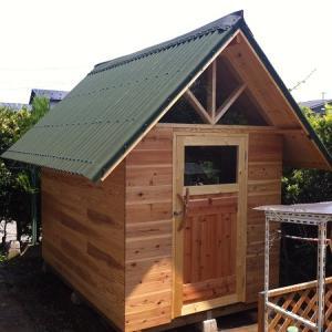 小屋作り 7