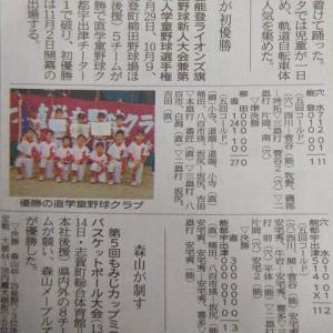 本屋親父のつぶやき令和元年10月16日今朝の北國新聞さんの珠洲ニュース・・!!
