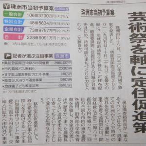 本屋親父のつぶやき 令和 2年 2月21日 最近の新聞記事から珠洲の新年度事業と予算案の発表