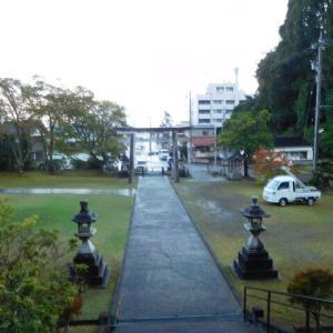 本屋親父のつぶやき 令和  2年 10月24日飯田・春日神社の末社 愛宕神社の千日参りに出席しました。