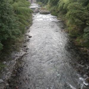 9月10日 平水以下となった亀尾島川で鮎釣り!