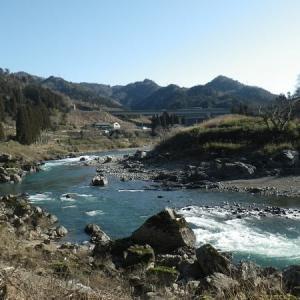 渇水の那比川でアマゴ釣り!