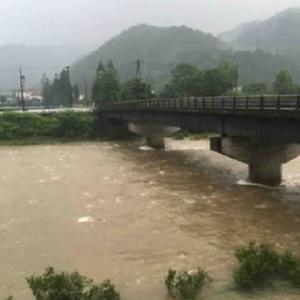 長良川の状況  2020.7.11