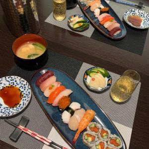 3ヶ月ぶりにお寿司