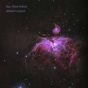 オリオン座の大星雲 スタッフ撮影