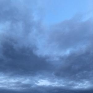 雪が降りました 手稲山初冠雪2019.11.6