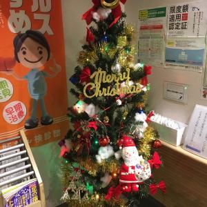 クリスマスツリー飾りました2019.11.28