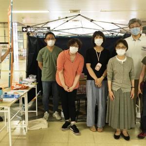 2020年 世界・日本肝炎デー 肝炎ウイルス検査脂肪肝エコー体験 やってきましたー