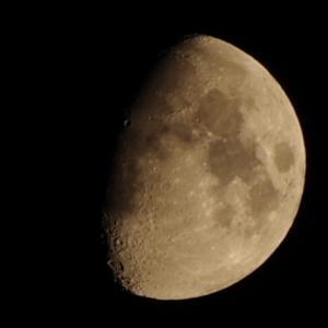 PENTAX K70で月と木星を撮ってみました