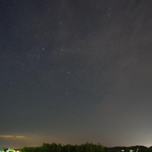 星撮り練習 in 北見