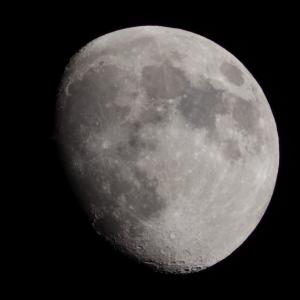今日のお月さん PENTAX K70とsmc PENTAX67 500mmF5.6にて 2021.6.21