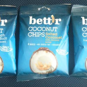 オーガニックココナッツチップス bett'r coconut chips