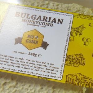 ブルガリア産 巣はちみつ Bulgarian honeycomb