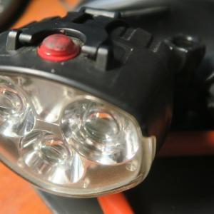 自転車用ライト新調しました