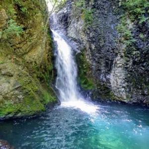 ストレスは滝で浄化。