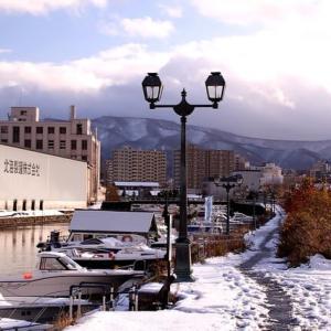 冬の景色に ・・・
