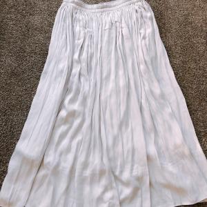 【UNIQLO】2色買いしたギャザーロングスカート