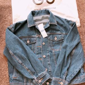 【GU】¥990で購入できた春アウターのデニムジャケット