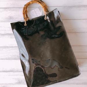 【しまむら】¥990で購入したバンブーハンドルビニールバッグ