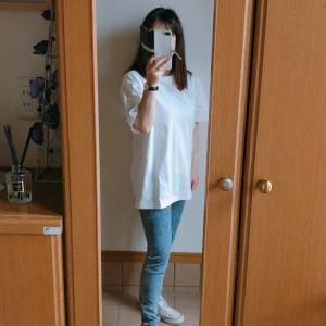 【UNIQLO】メンズのUNIQLO UTシャツとレギパンで爽やかカジュアルコーデ