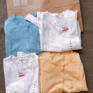 【UNIQLOキッズ】¥500に値下げされた夏の羽織の必需品を4枚まとめ買い