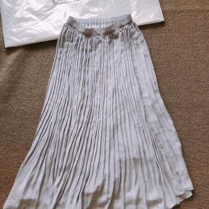 【GLOBAL WORK】アウトレット価格で購入できたプリーツロングスカート