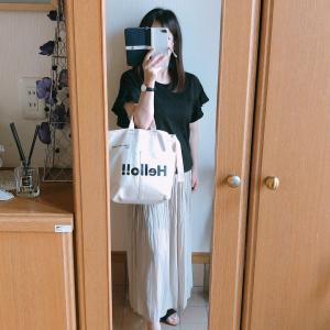 【UNIQLO】ワッシャーサテンスカートパンツでコーデ/バナナシェイク