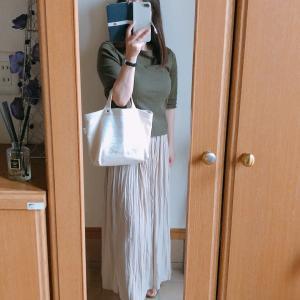 【UNIQLO】軽やかな履き心地のワッシャーサテンスカートパンツでコーデ/美容室へ